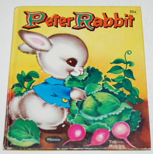 Whitman peter rabbit book