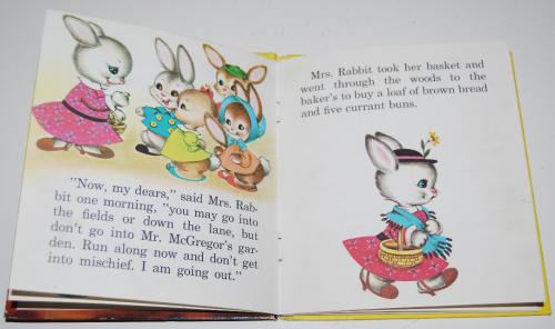 Whitman peter rabbit book 3