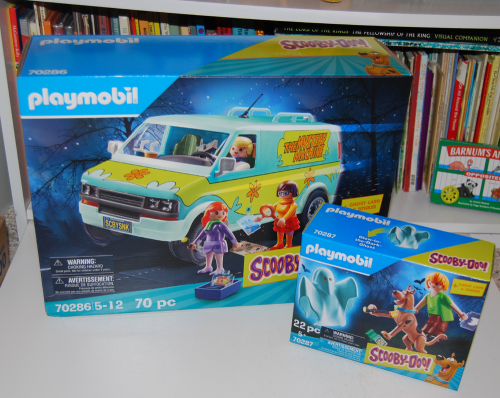 New scooby doo playmobil toy sets