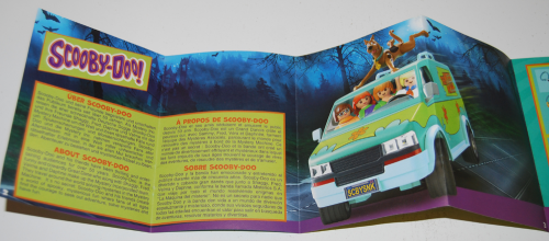 Playmobil scooby doo mystery machine pamphlet