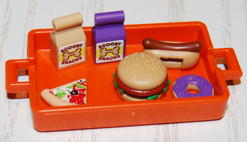 Playmobil scooby doo accessories snacks