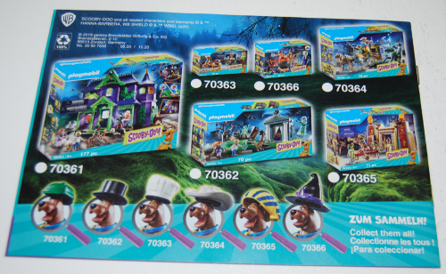 Playmobil scooby doo sets