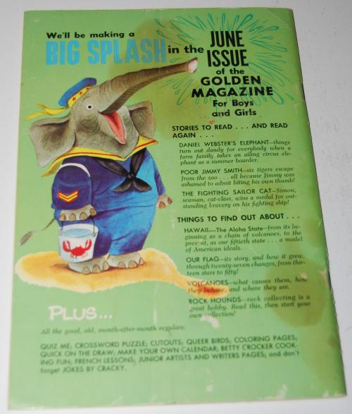 Golden mag may 1964 x