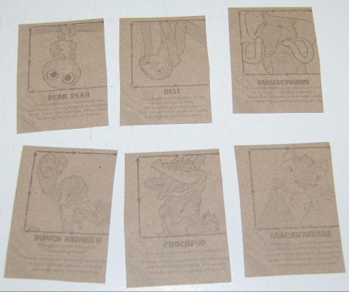Creatures cards x