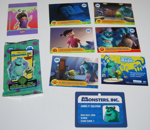 Monsters inc cards