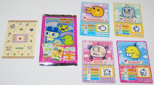 Tamagotchi cards