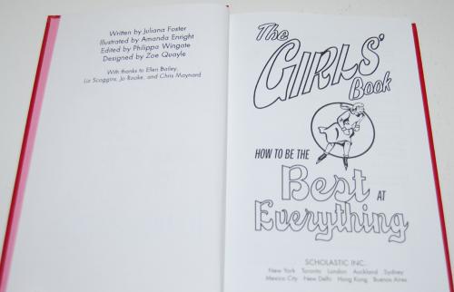 Girls' book 1