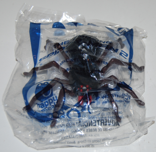 Happy meal toy spiderman