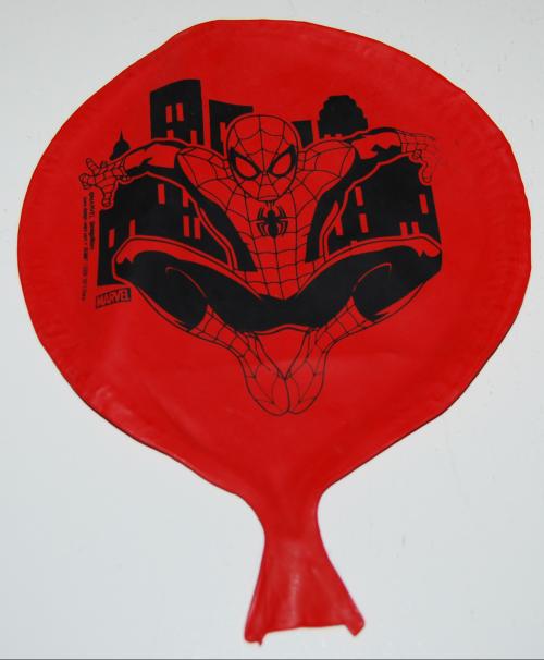 Spiderman whoopie cushion