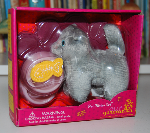 Our generation doll kitty accessory toy