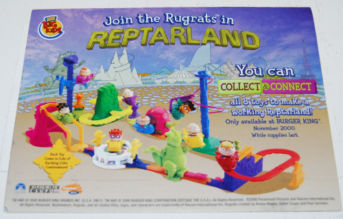 Bk reptarland toy