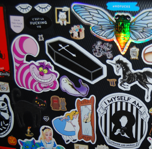 Laptop sticker redo