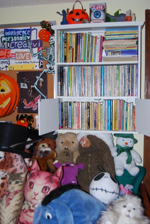 Scholastic books shelf