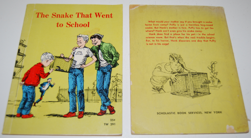 The snake that went to school