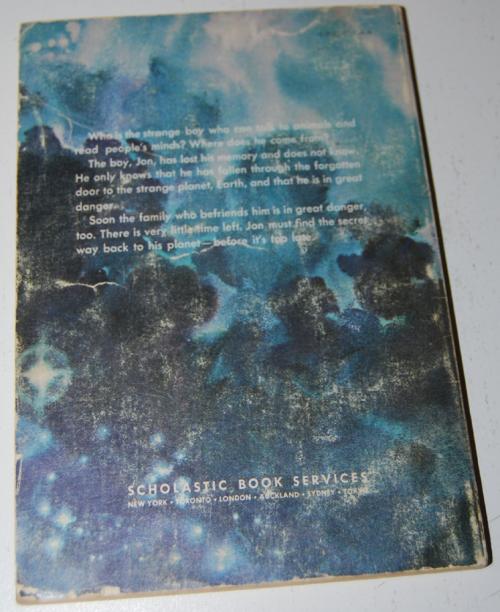 The forgotten door book