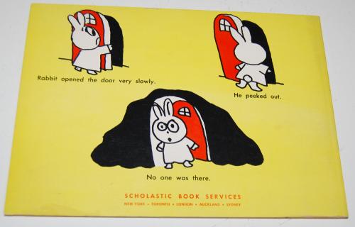 Rabbit & skunk & spooks book
