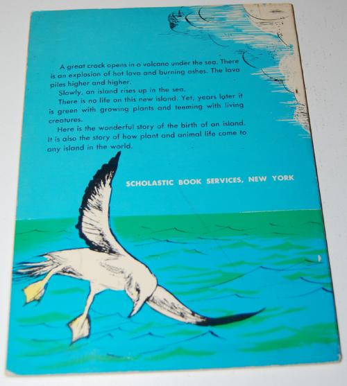 Birth of an island book