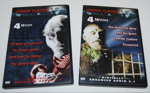 Horror classics dvds