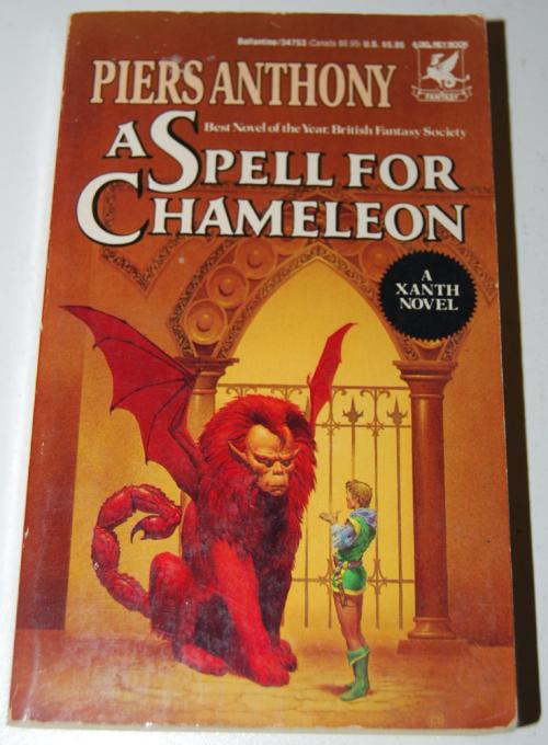 A spell for chameleon