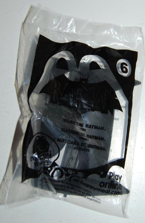 Happy meal toy batman 3
