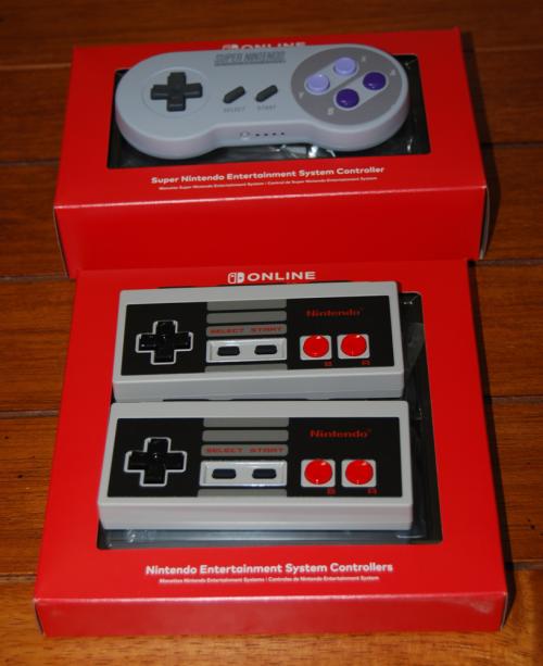 Nintendo switch nes snes controllers
