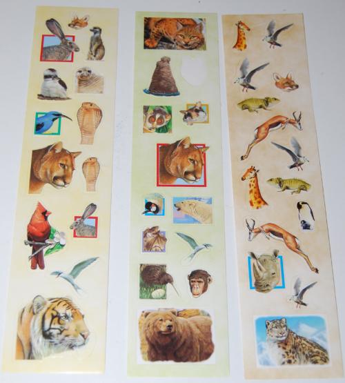 Animal stickers x