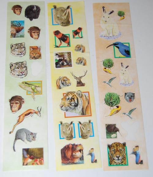 Animal stickers 4