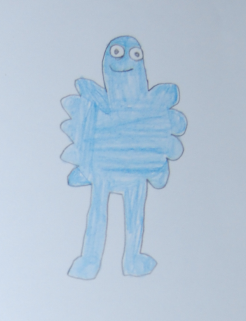 Dan's blue guy