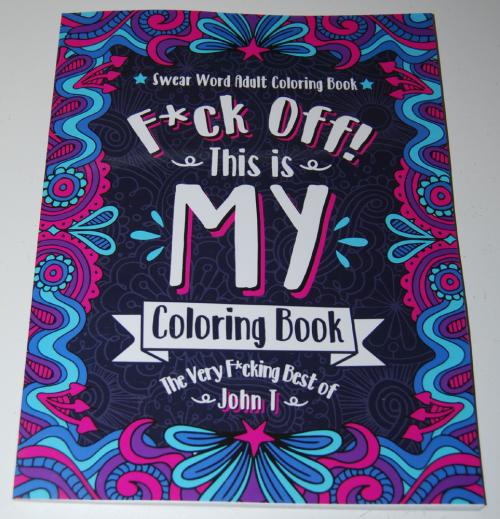Swearing coloring books