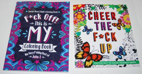 Swearing colorig books