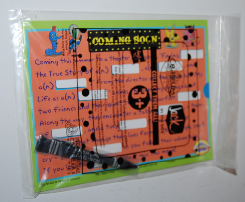 Jack in the box kids meal toys madlib