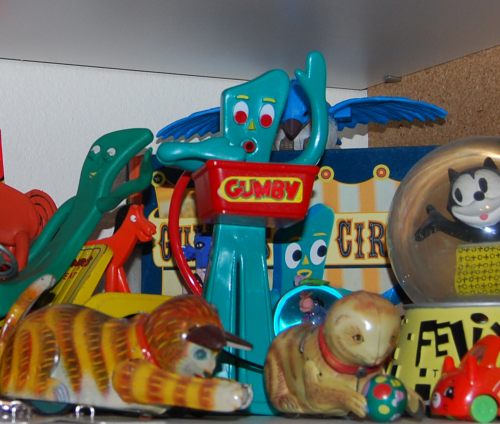Gumby bubble blower toy vintage