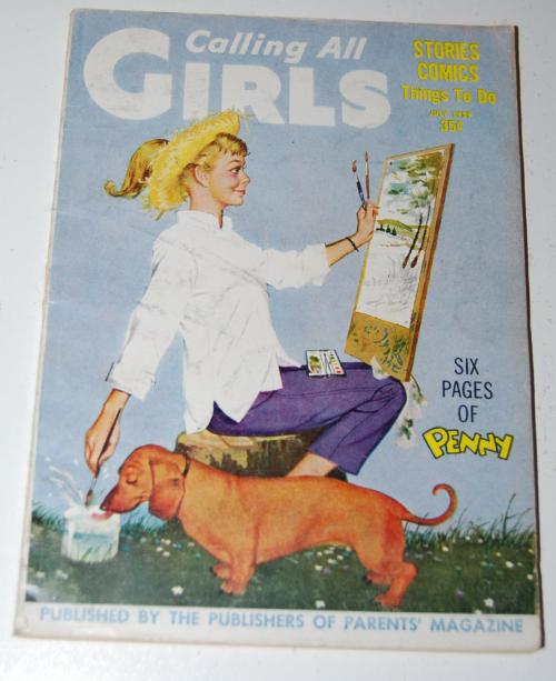 Calling all girls july 1959