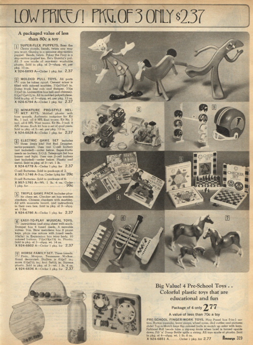 Vintage gumby ads