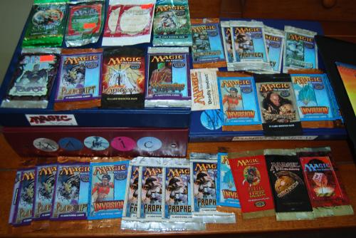 Magic the gathering card packs