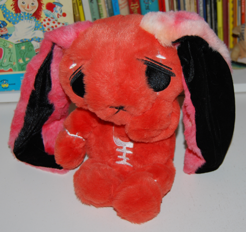 Mysterious anxiety rabbit plush
