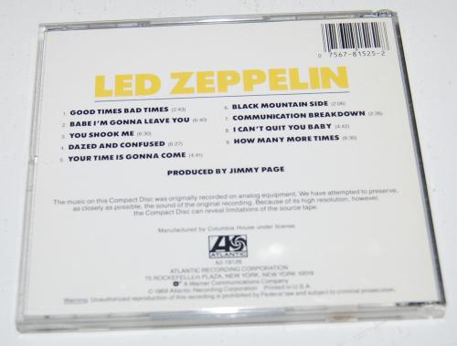 Led zeppelin cds x