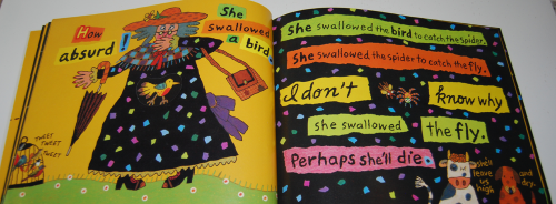 There was an old lady who swallowed a fly 8
