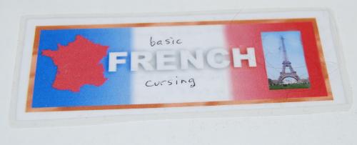 Bookmark basic french cursing