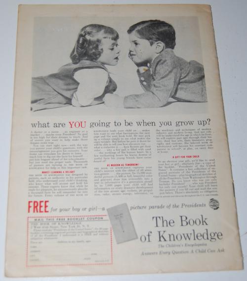 Child life mag september 1952 x