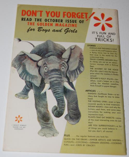 Golden magazine sept 1967 x