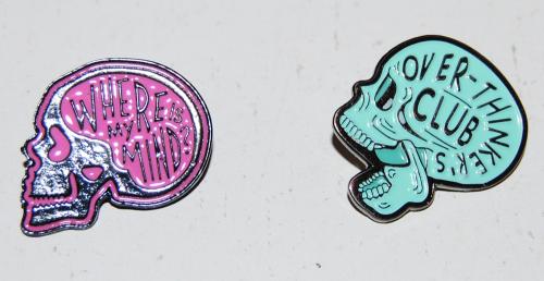 Mental health awareness pins
