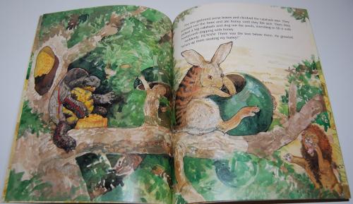 Rabbit makes a monkey of lion 6