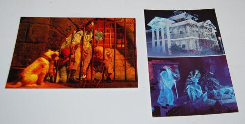 Postcards disneyland vintage