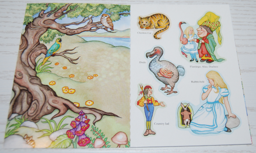 Alice in wonderland dover mini activity book dover