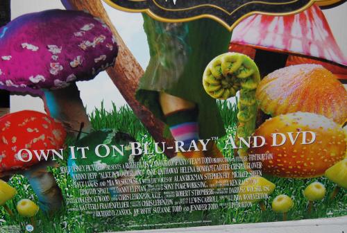 Disney alice in wonderland display mad hatter