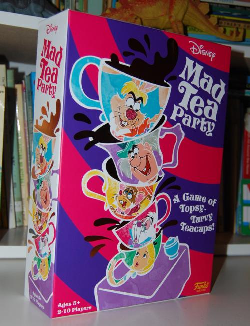 Funko alice in wonderland mad tea party game