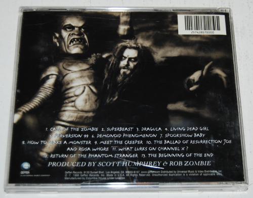 Rob zombie cd x