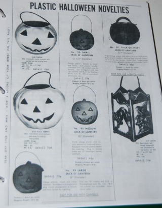 Vintage halloween ads x