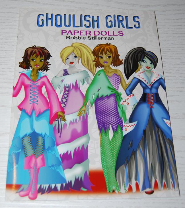 ghoulish girls paperdolls